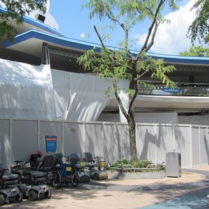 5 of 7: Tomorrowland Transit Authority PeopleMover - Tomorrowland Transit Authority and Astro Orbiter refurbishment