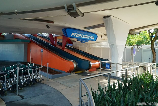 New paint scheme for the PeopleMover
