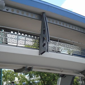 1 of 3: Tomorrowland Transit Authority PeopleMover - Tomorrowland Transit Authority refurbishment