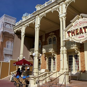 3 of 4: Town Square Theater - Exterior refurbishment