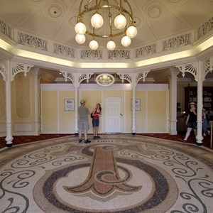 2 of 9: Town Square Theater - The lobby facing the meet and greet entrance