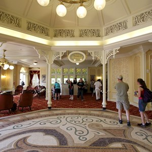 3 of 9: Town Square Theater - The lobby facing Tony's