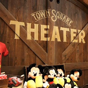 34 of 41: Town Square Theater - Town Square Theater interior and Mickey Mouse meet and greet