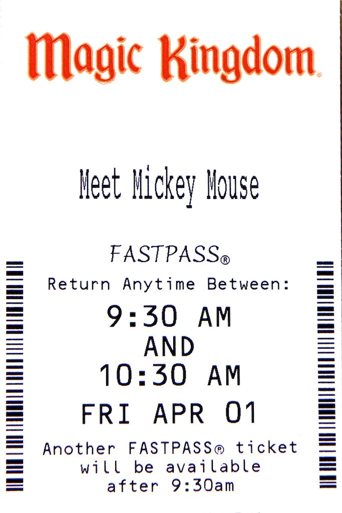 Town Square Theater FASTPASS