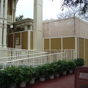 2 of 2: Town Square Theater - Exterior refurbishment walls