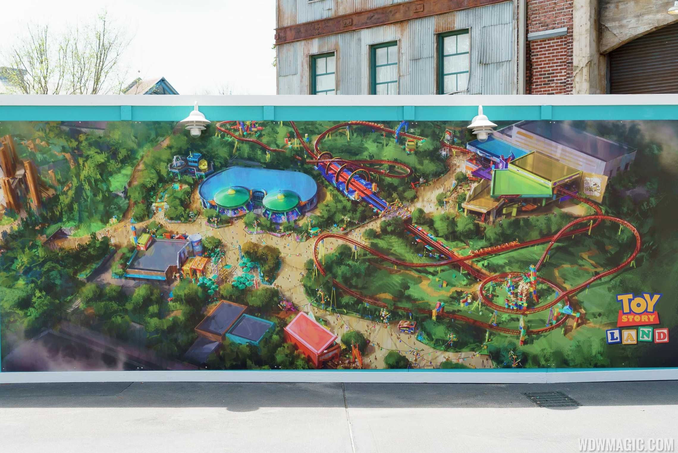 Toy Story Land concept art April 2016