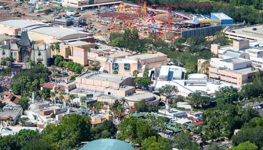 PHOTOS - Latest look at Toy Story Land from the air