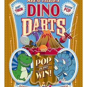 1 of 1: Toy Story Mania - Rex and Trixie's Dino Darts