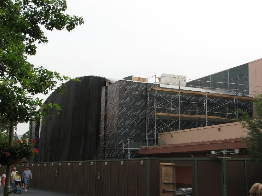 Latest Toy Story Mania construction photos