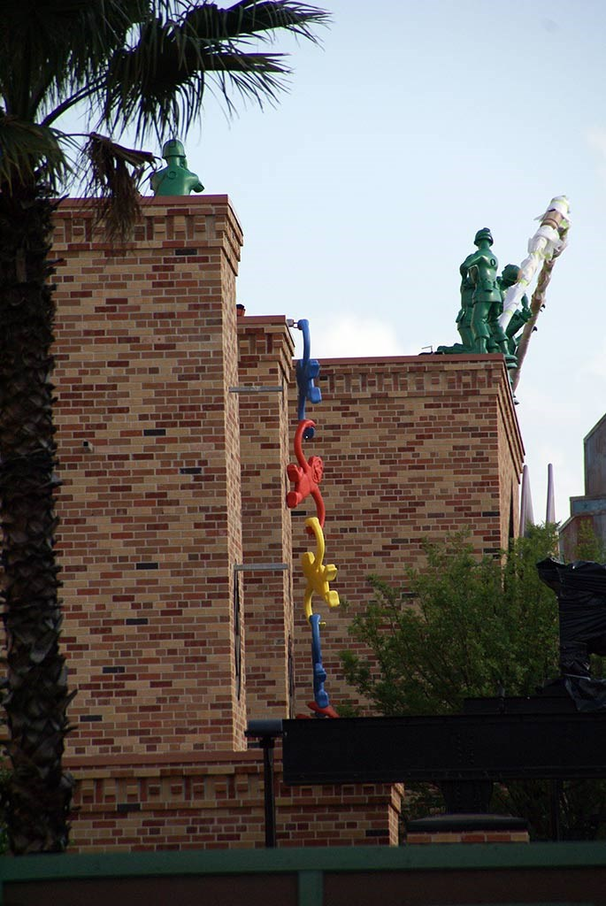 Green Army Men move in at Pixar Place