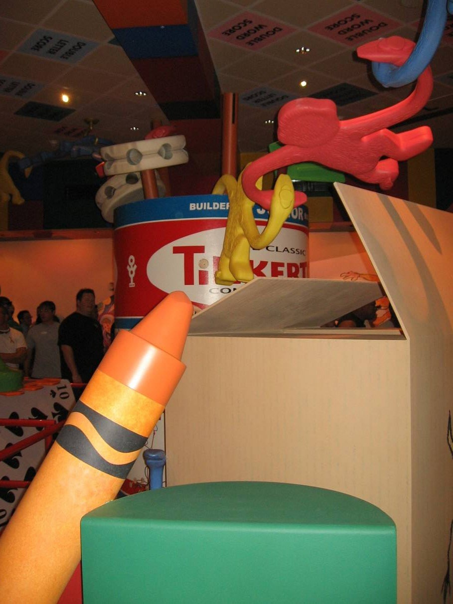 Toy Story Mania preview photos