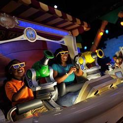 Toy Story Mania ride vehicle photos