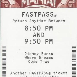 1 of 1: Toy Story Mania - FASTPASS now running at Toy Story Midway Mania