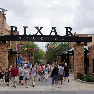 1 of 12: Toy Story Mania - Pixar Place now completely wall-less, and Toy Story Meet and Greet moves in