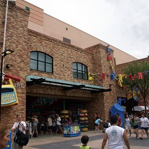 2 of 12: Toy Story Mania - Pixar Place now completely wall-less, and Toy Story Meet and Greet moves in