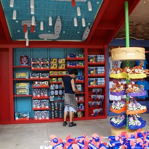 4 of 12: Toy Story Mania - Pixar Place now completely wall-less, and Toy Story Meet and Greet moves in