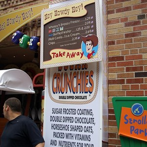 7 of 12: Toy Story Mania - Pixar Place now completely wall-less, and Toy Story Meet and Greet moves in