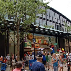 11 of 12: Toy Story Mania - Pixar Place now completely wall-less, and Toy Story Meet and Greet moves in