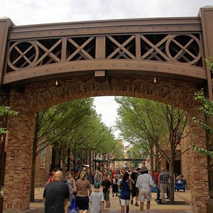 12 of 12: Toy Story Mania - Pixar Place now completely wall-less, and Toy Story Meet and Greet moves in