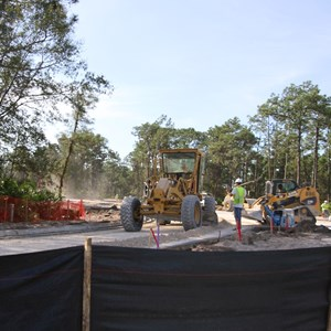 4 of 6: Typhoon Lagoon - Typhoon Lagoon main entrance road expansion