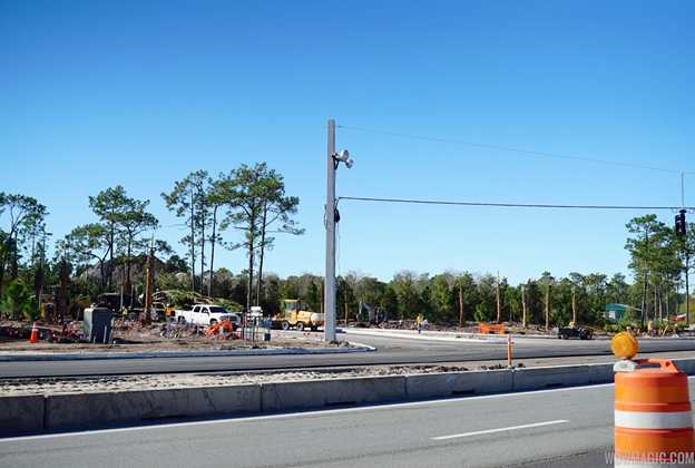 Typhoon Lagoon main entrance construction