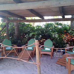 2 of 5: Typhoon Lagoon - Beachcomber Shacks private areas