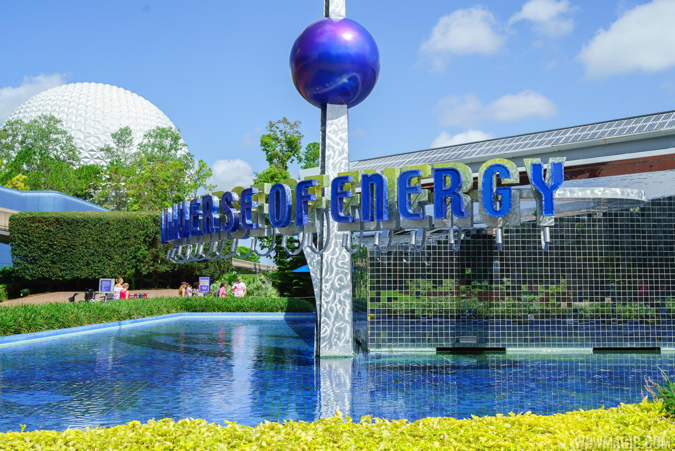 Universe of Energy exterior