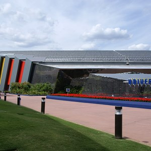 5 of 6: Universe of Energy (Pavilion) - Universe of Energy Pavilion exterior paint refurbishment