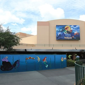 1 of 1: Voyage of the Little Mermaid - Refurbishment wall