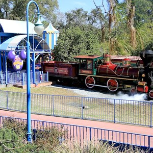 1 of 3: Walt Disney World Railroad - Mickey's Toontown Fair station