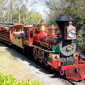 3 of 3: Walt Disney World Railroad - Mickey's Toontown Fair station