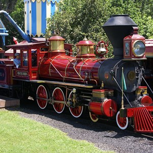 1 of 2: Walt Disney World Railroad - Walter E Disney train