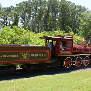 2 of 2: Walt Disney World Railroad - Walter E Disney train