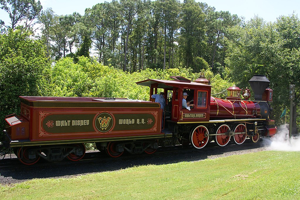Walter E Disney train