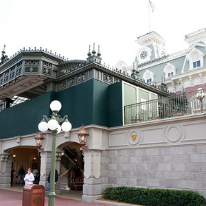 1 of 1: Walt Disney World Railroad - Main Street U.S.A. station refurbishment