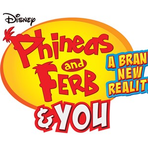 1 of 1: West Side - 'Phineas and Ferb and YOU A Brand New Reality' logo