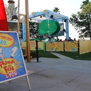 1 of 7: West Side - 'Phineas and Ferb and YOU A Brand New Reality' opening day