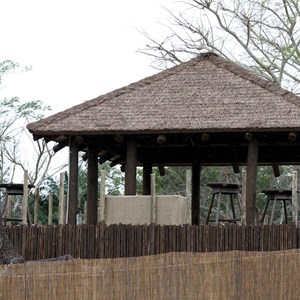 8 of 8: Wild Africa Trek - Rope bridge installation and camp buildings