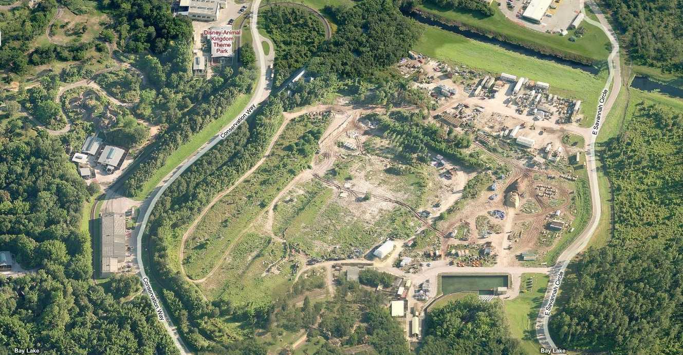 Possible Construction Sites At Disney S Animal Kingdom