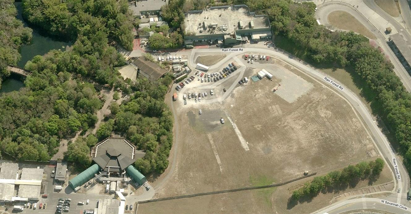 Possible construction sites at Disney's Animal Kingdom