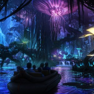 1 of 5: AVATAR land at Disney's Animal Kingdom - AVATAR land concept art