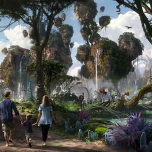 2 of 4: AVATAR land at Disney's Animal Kingdom - AVATAR land concept art