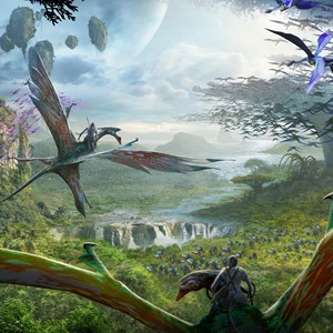 3 of 4: AVATAR land at Disney's Animal Kingdom - AVATAR land concept art