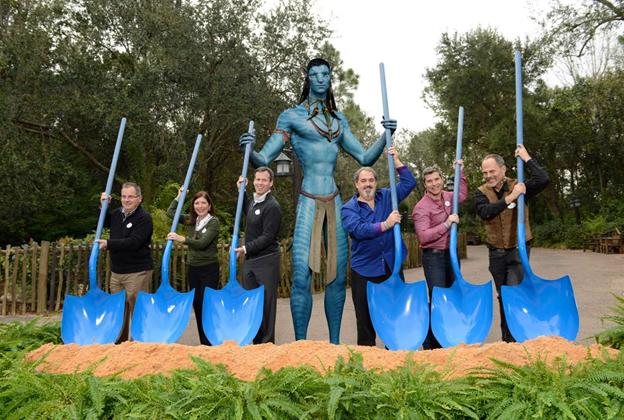 Ground breaking ceremony at the AVATAR construction site