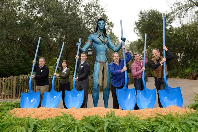 Ground breaking for AVATAR at Disney's Animal Kingdom