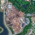 AVATAR land at Disney's Animal Kingdom - AVATAR land aerial views - May 2014