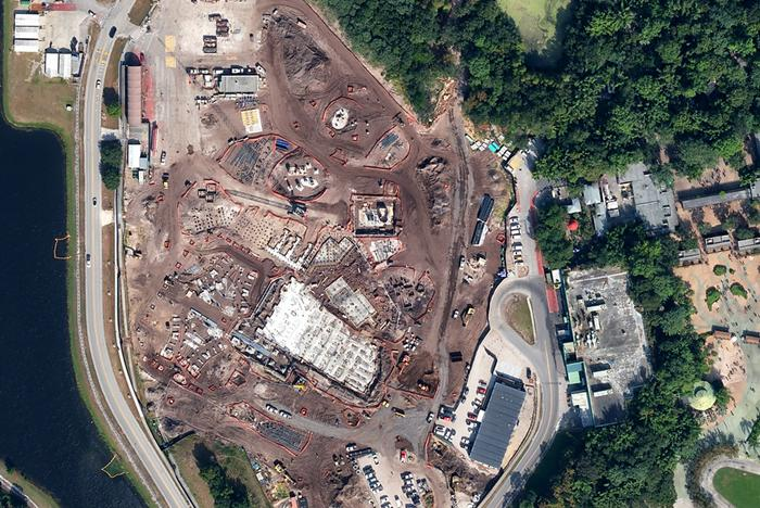 AVATAR construction from the air