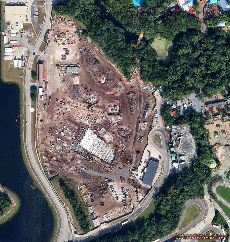 Disney Info Sites: Aerial Views Of The AVATAR Land Construction At