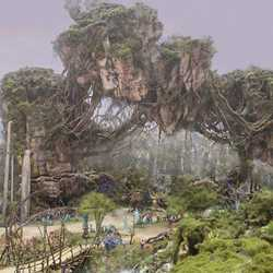 AVATAR concept art Disney's Animal Kingdom