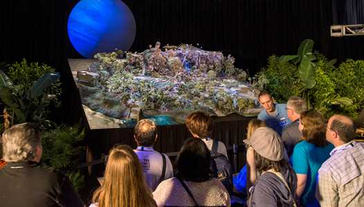 PHOTOS - Walt Disney Imagineering displays AVATAR project model at D23 EXPO